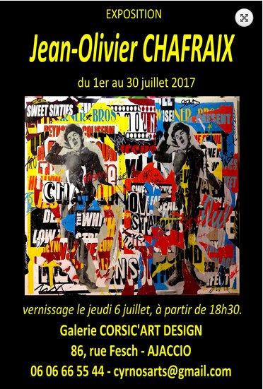 Exposition - Jean-Olivier Chafraix et Josiane Pape