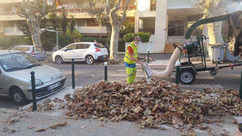 """Platanes : intervention d'urgence et mise en service du """"Vent Pire"""""""