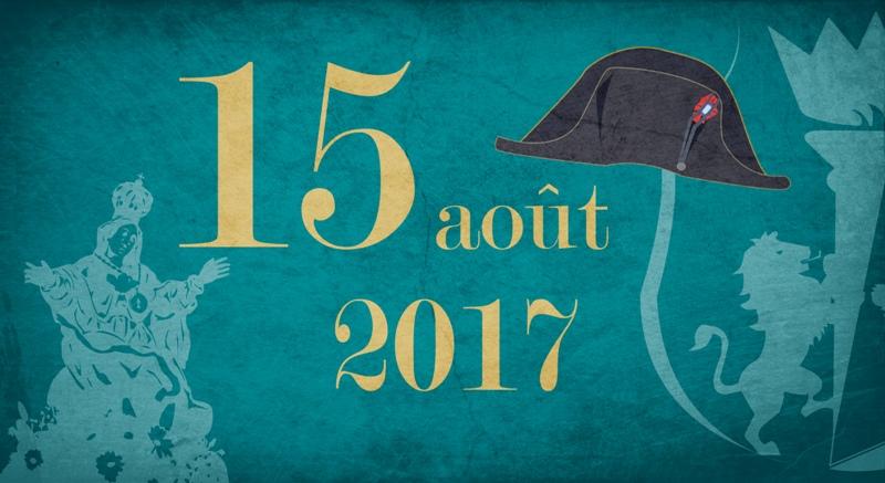 Le 15 août 2017 à Ajaccio Programme - Circulation et Stationnement