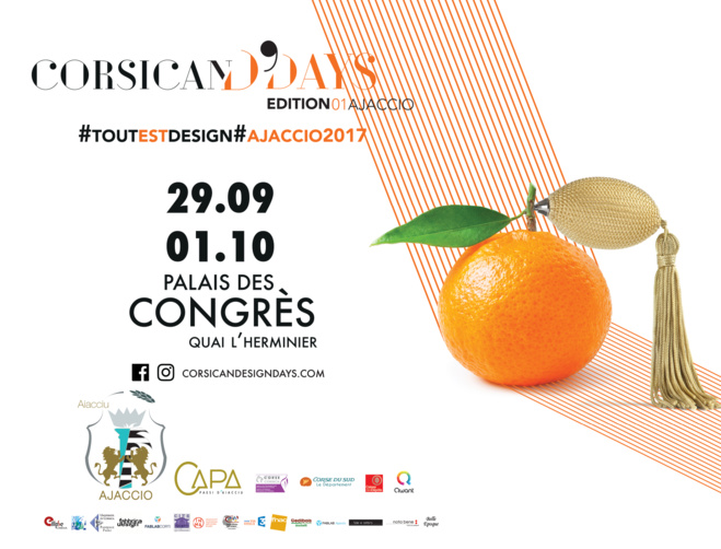 Corsican Design Days du 29 septembre au 1 er octobre Palais des Congrès