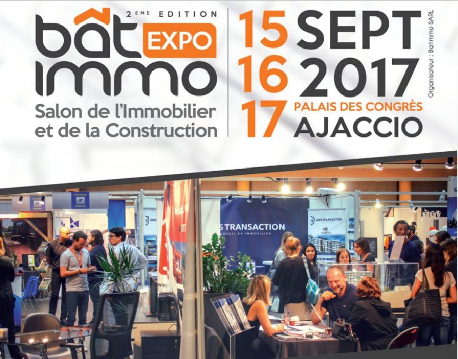 Bat Immo Expo 15, 16 et 17 septembre Palais des Congrès