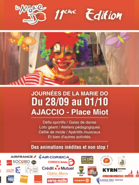 Journées de La Marie Do du 28 septembre au 1er octobre Place Miot