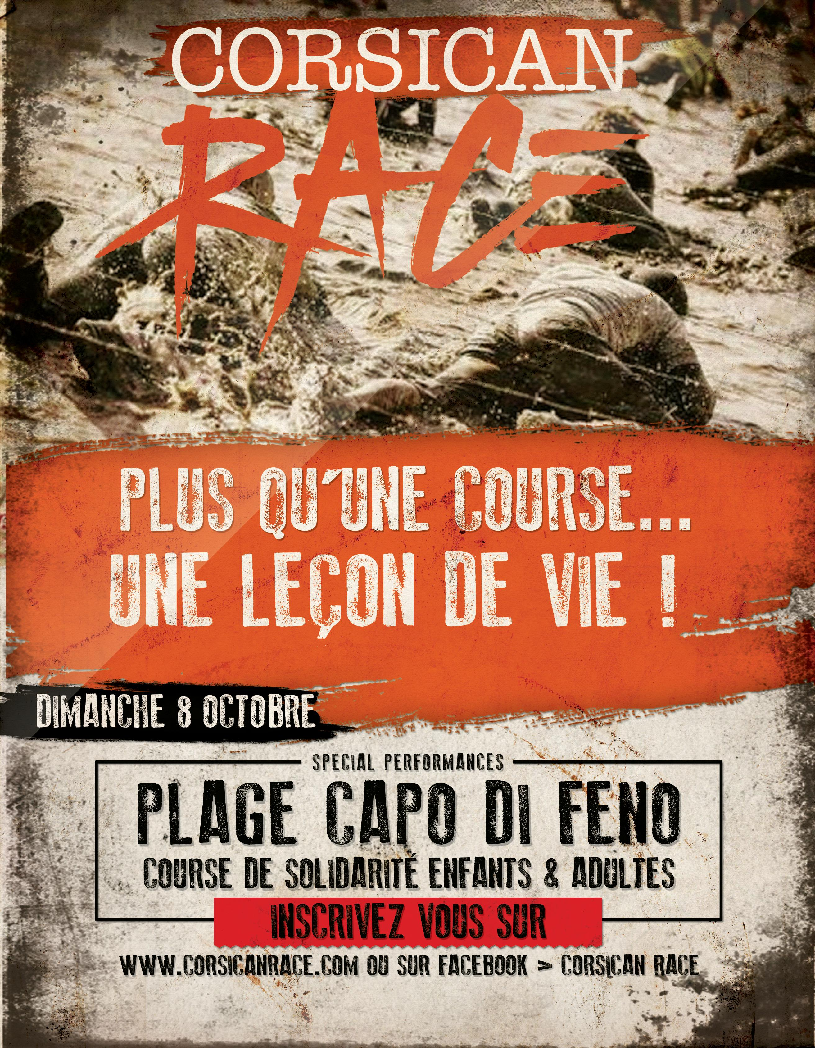 Corsican Race 2017 dimanche 8 octobre Site de Capu di Fenu