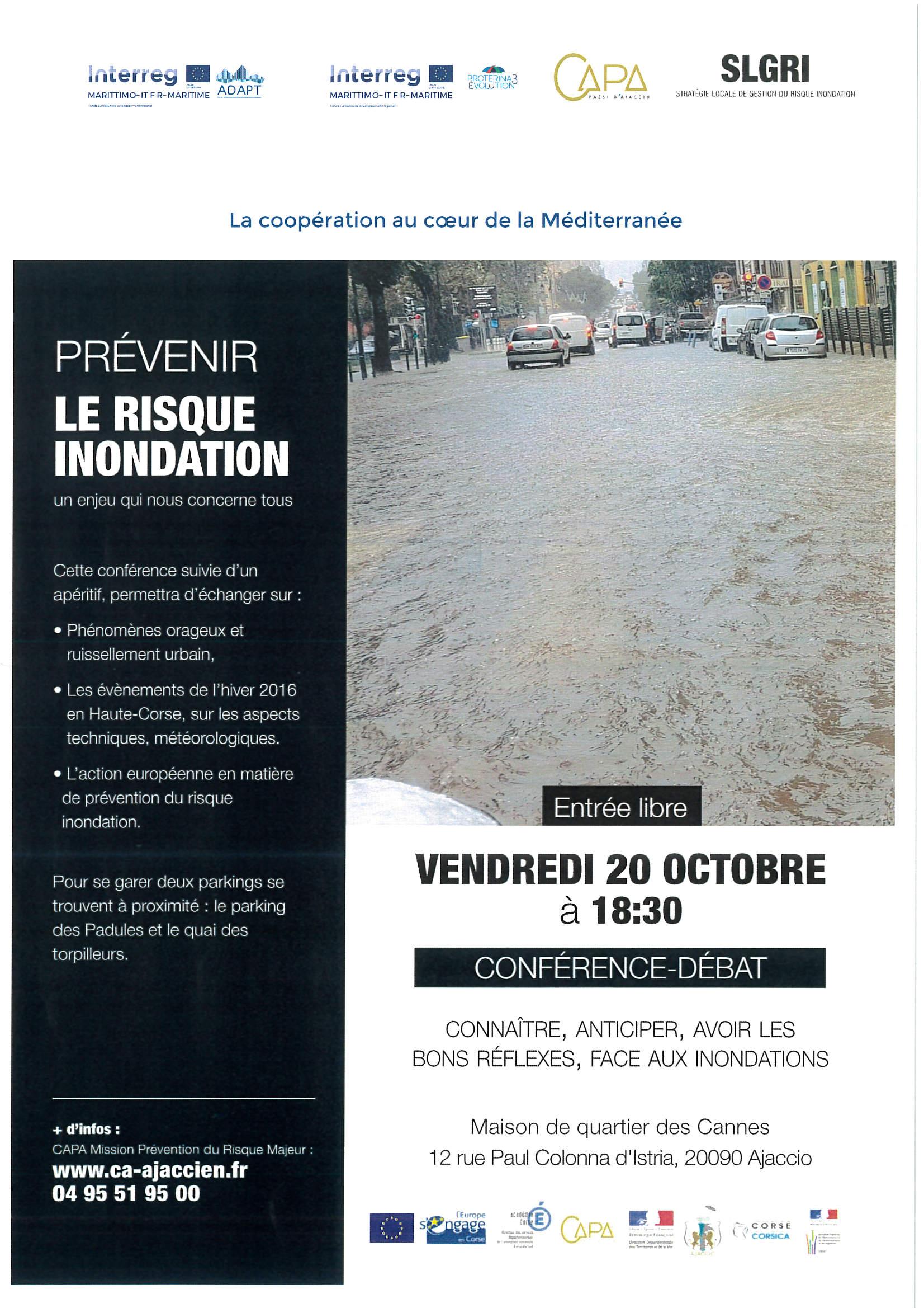 Conférence Débat le 20 Octobre 2017 à 18h30 Maison de Quartier des Cannes