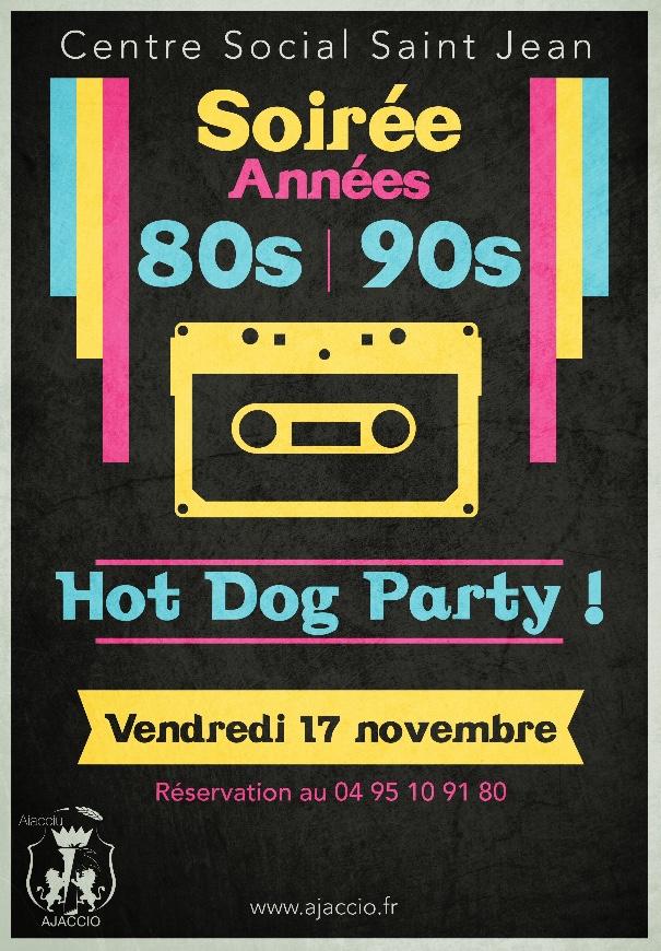 Soirée 80's & 90's au centre social de Saint Jean