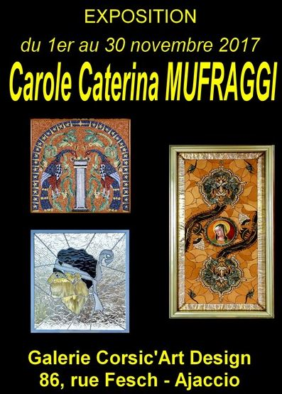 Exposition des œuvres de Carole Caterina Muffraggi