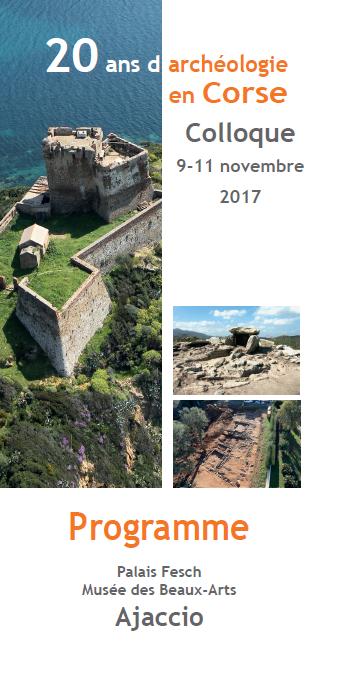Colloque 20 ans d'archéologie en Corse au Palais Fesch
