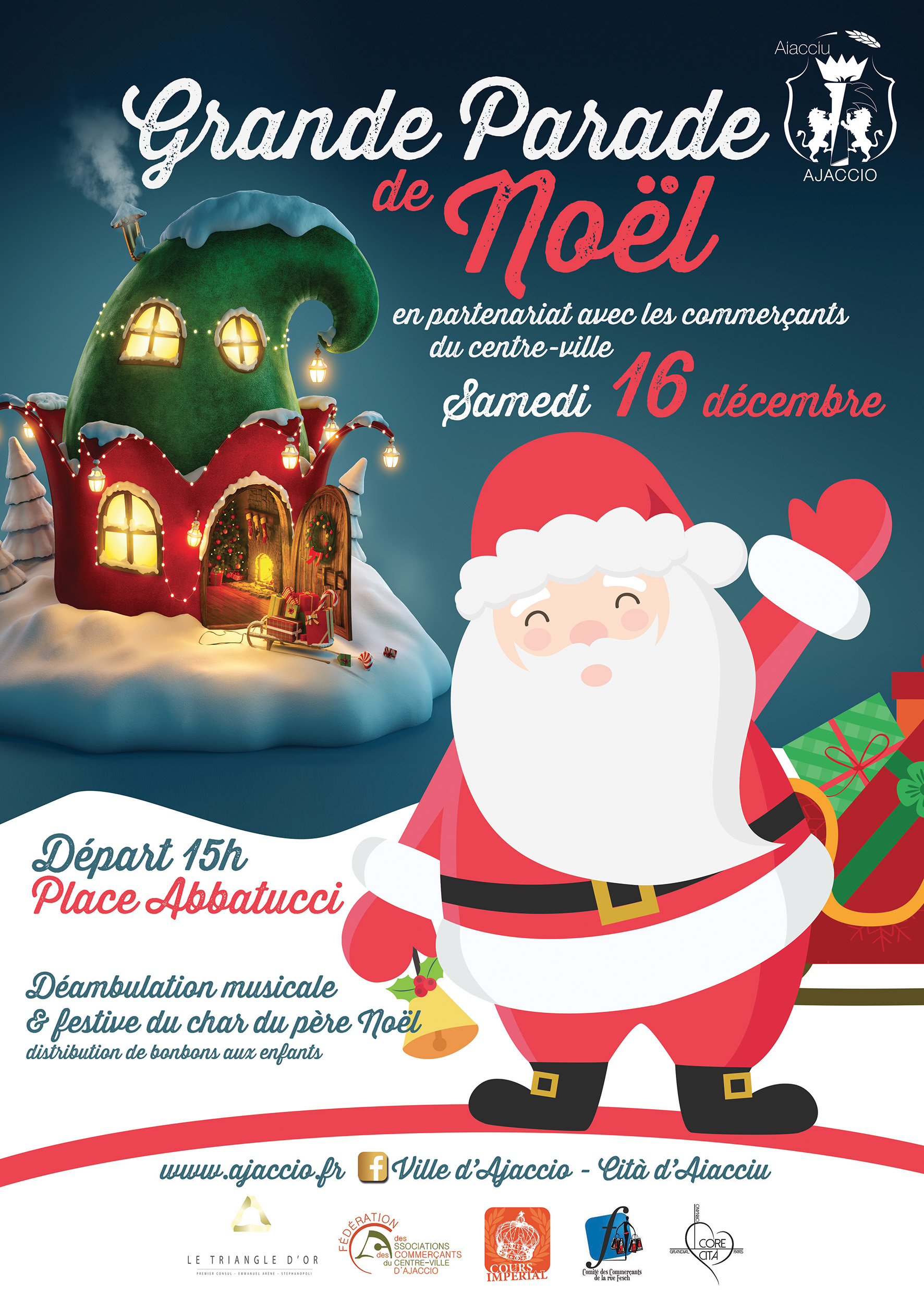 Natale in Aiacciu 2017 : Animations en Centre-ville