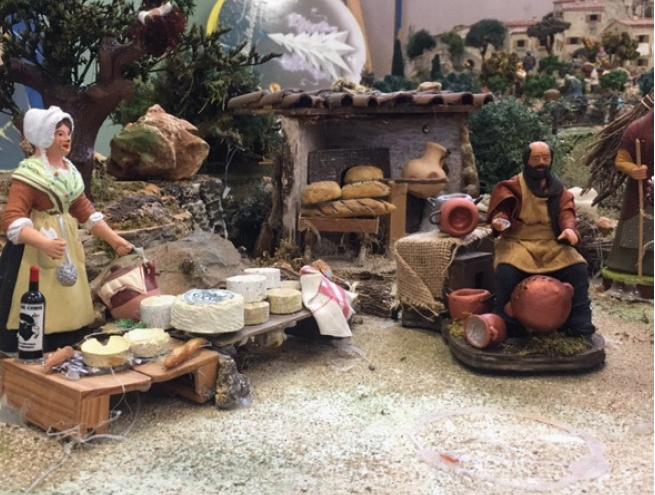 Les coulisses de la crèche de Noël