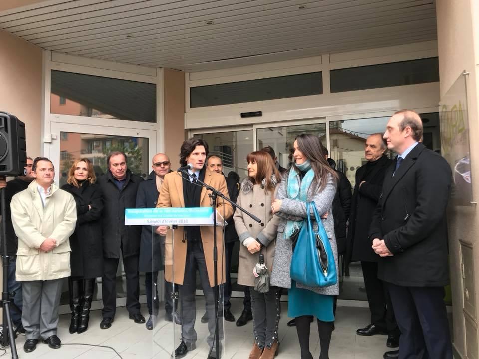 Inauguration de la rue Antoine Sollacaro