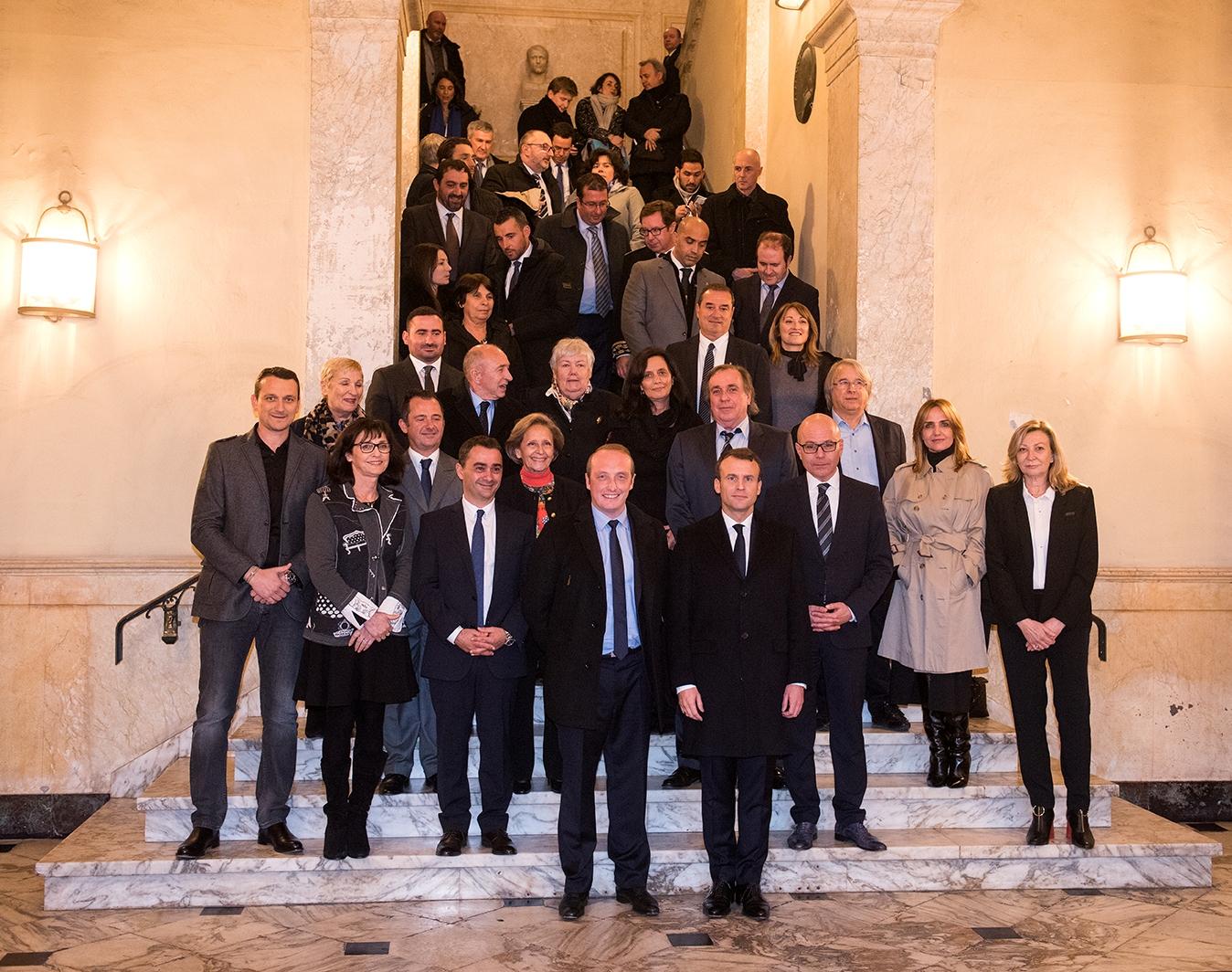 Retour en images, accueil du Président Macron à Ajaccio