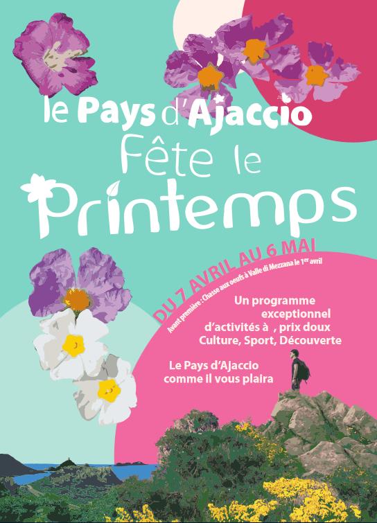 Le Pays d'Ajaccio fête le Printemps du 7 avril au 6 mai