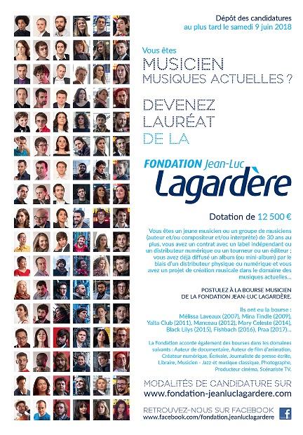 Appel à candidatures // Bourse Musicien de la Fondation Jean-Luc Lagardère