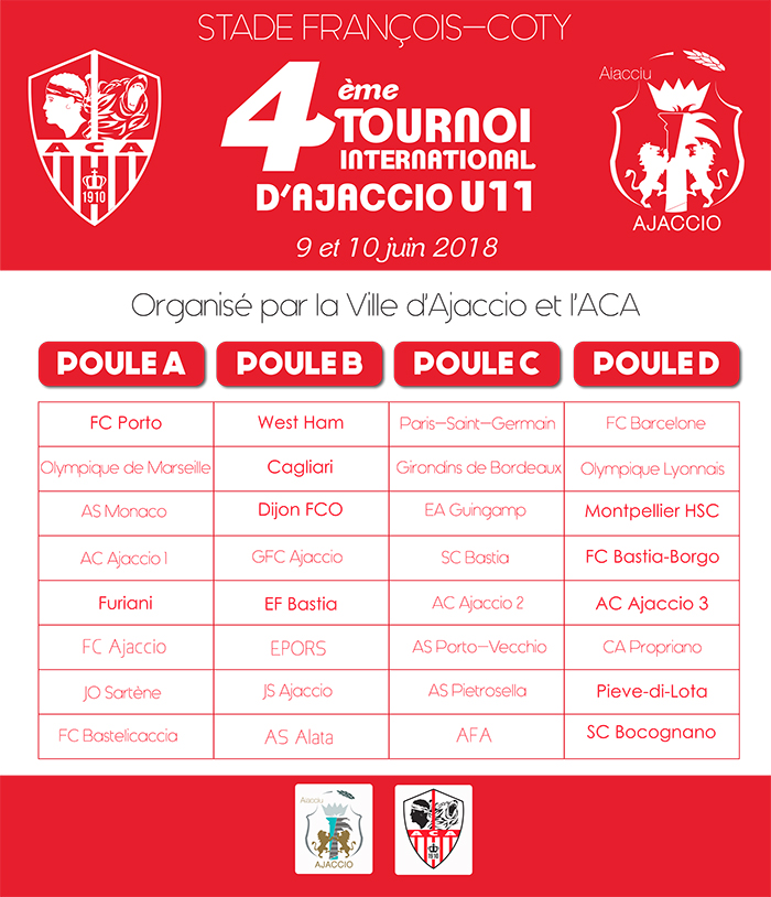 Tournoi International U11, Ajaccio capitale du football européen