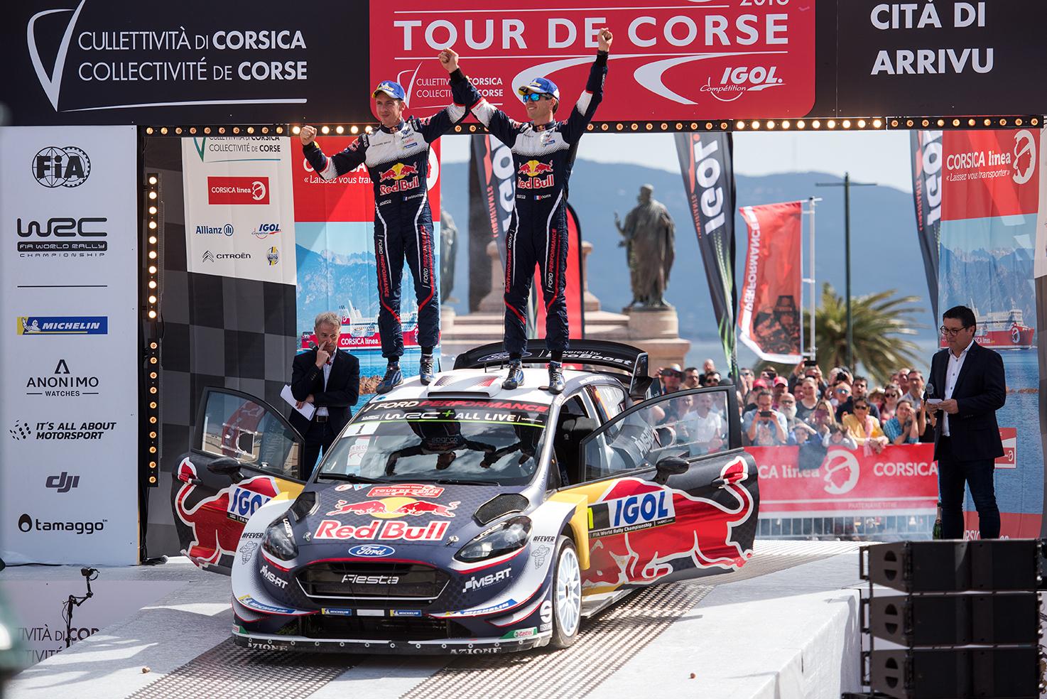 Retour en image sur l'arrivée du Corsica Linea Tour de Corse WRC 2018 à Ajaccio