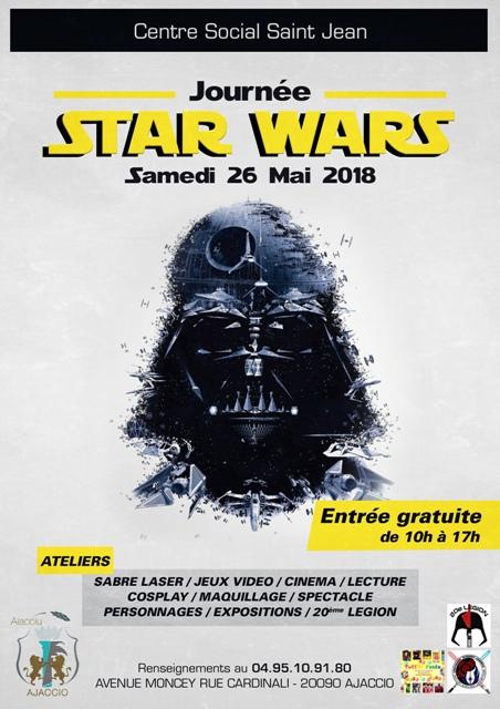 Journée STAR WARS au Centre Social et à la Médiathèque Saint Jean