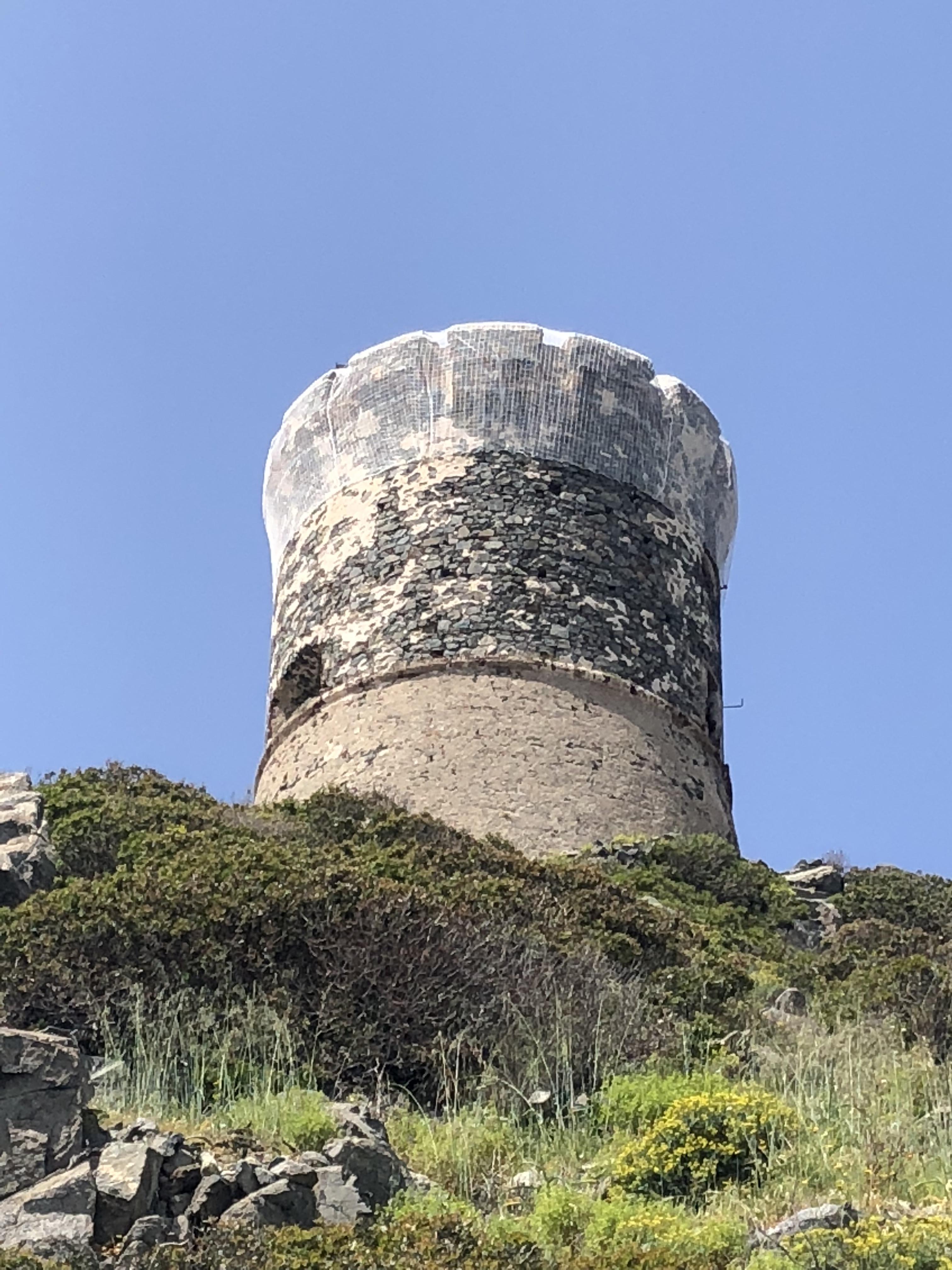 Réouverture de l'accès à la tour de la Parata