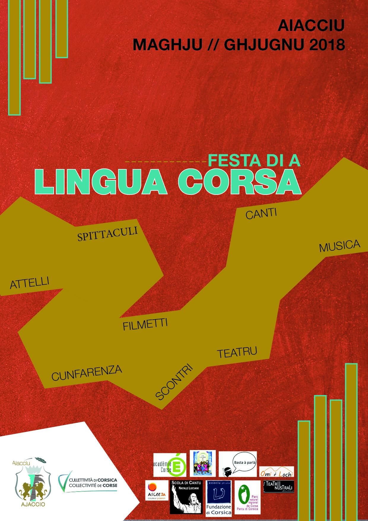 En mai et juin c'est la Festa di a Lingua Corsa 2018