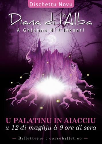 DIANA DI L'ALBA en concert le 12 mai à 21h au Palatinu