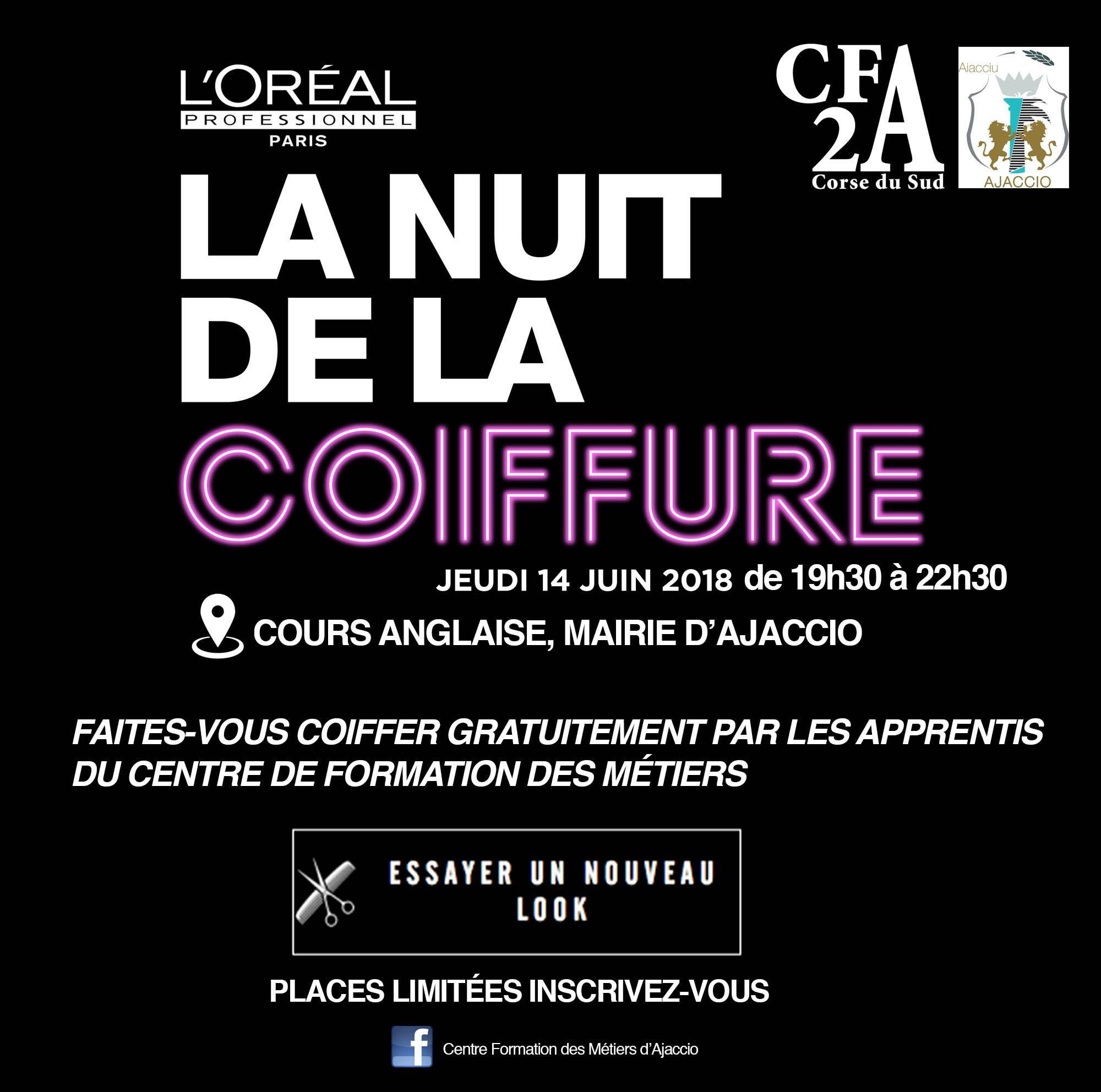 La Nuit de la Coiffure jeudi 14 juin à l'hôtel de ville