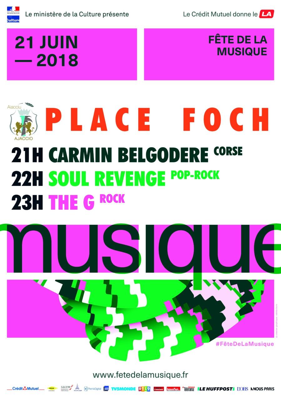 Fête de la Musique 2018 Place Foch