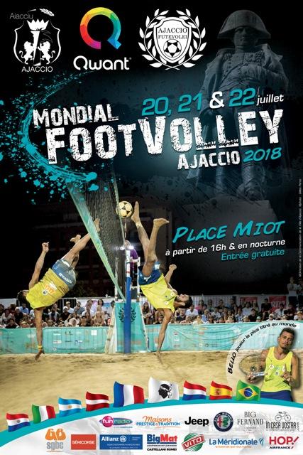 Mondial FootVolley du 20 au 22 juillet place Miot