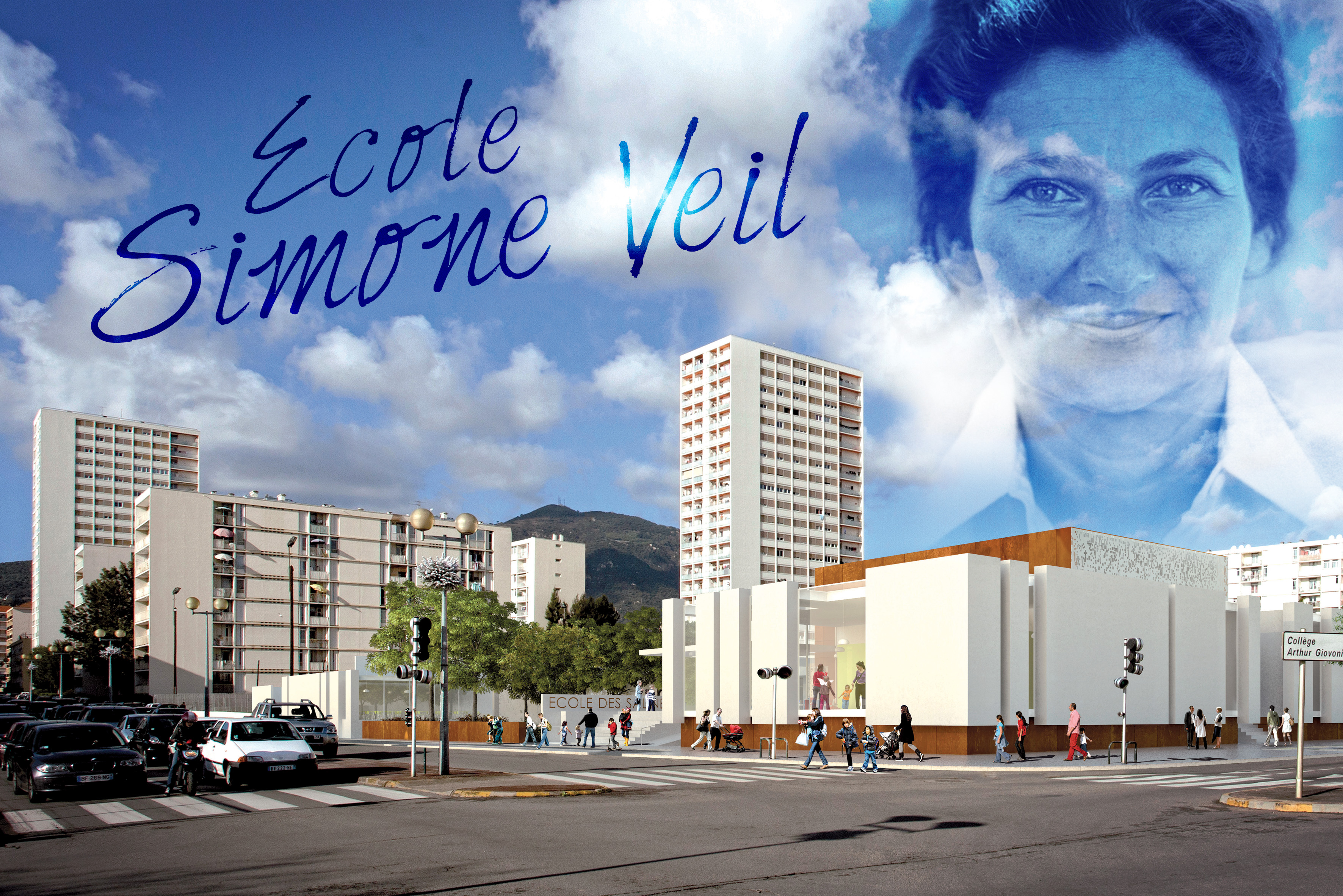 Patrimoine : Simone Veil, Mère Teresa et Jean Fabiani honorés par la Ville d'Ajaccio