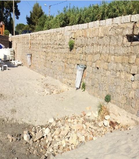 Intervention plage de Marinella