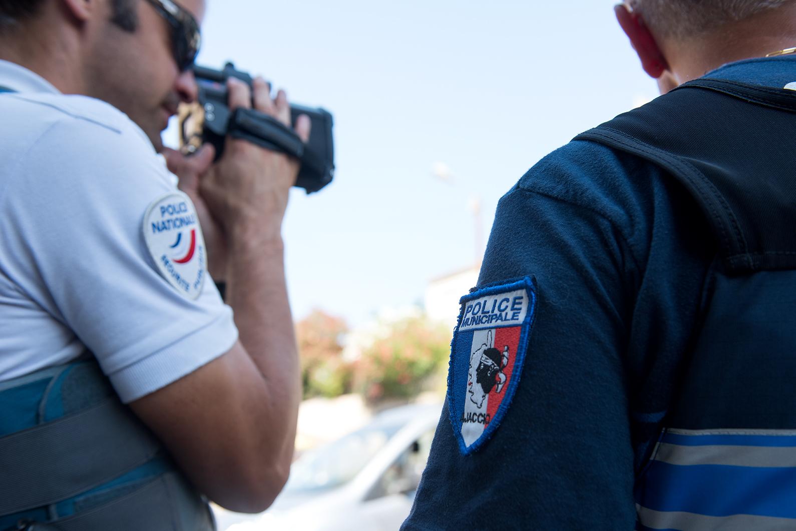 Prévention routière : action de sensibilisation Police Municipale et Police Nationale