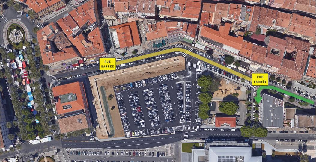 Fermeture temporaire du Boulevard roi Jérôme lundi 3 septembre