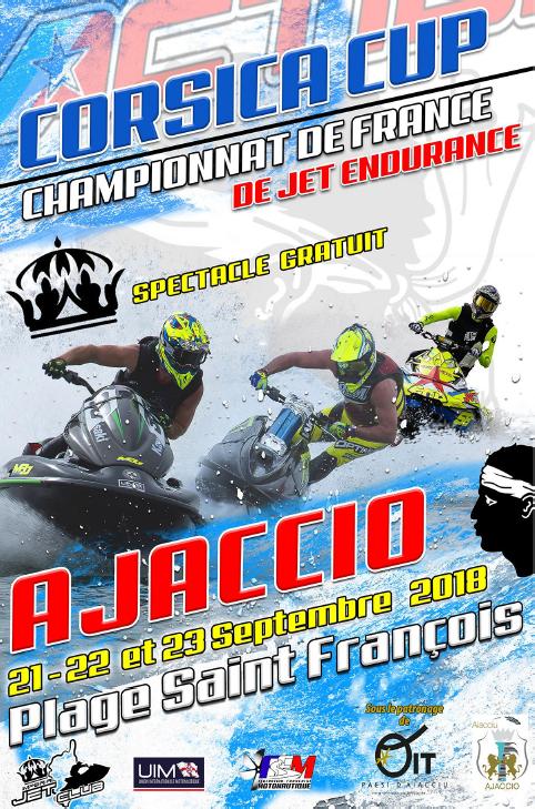 Finale du championnat de France d'endurance de Jetski Les  21, 22 et 23 septembre