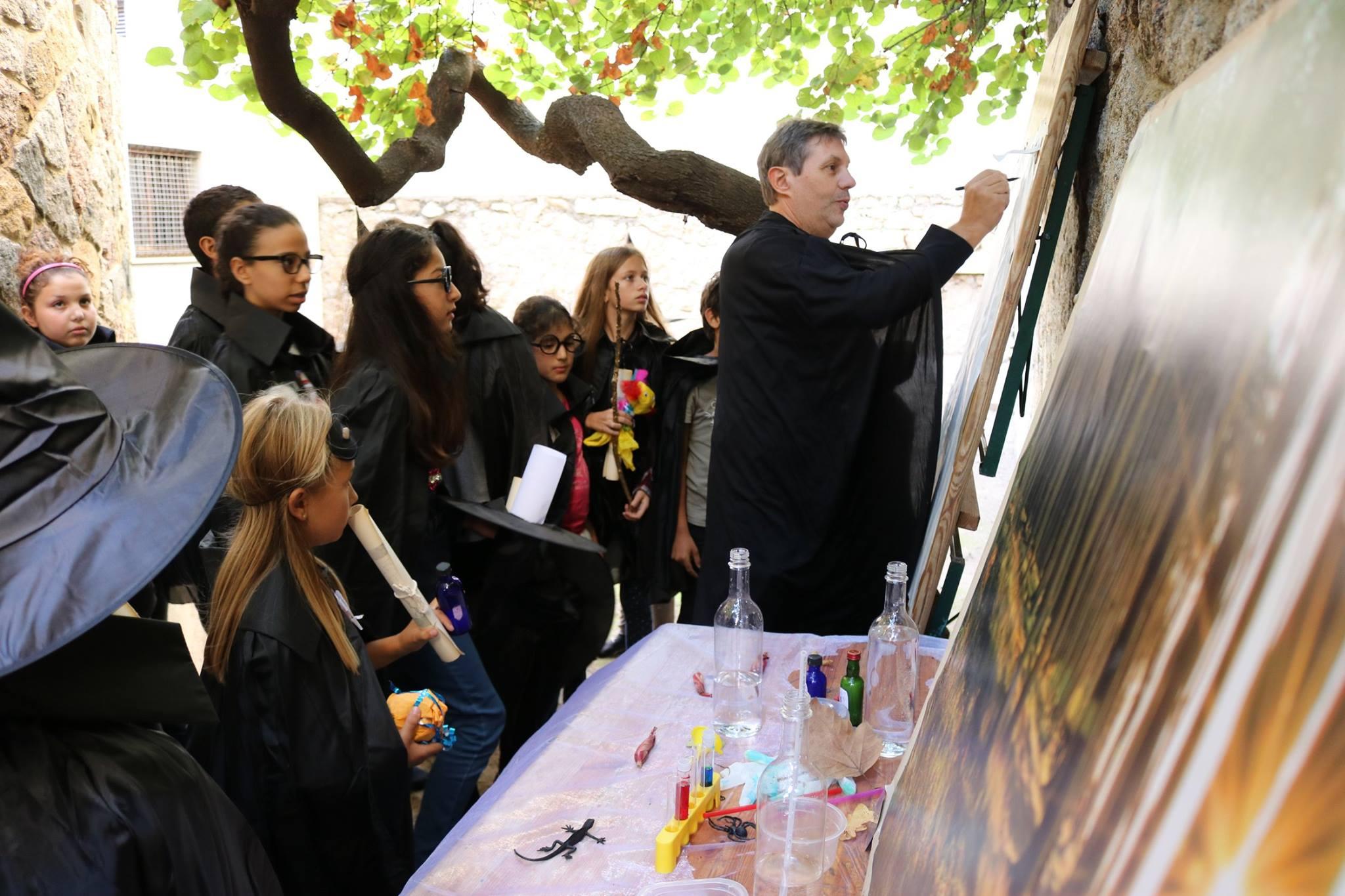 Projet Lumios, une manifestation contre les violences et les conduites à risques