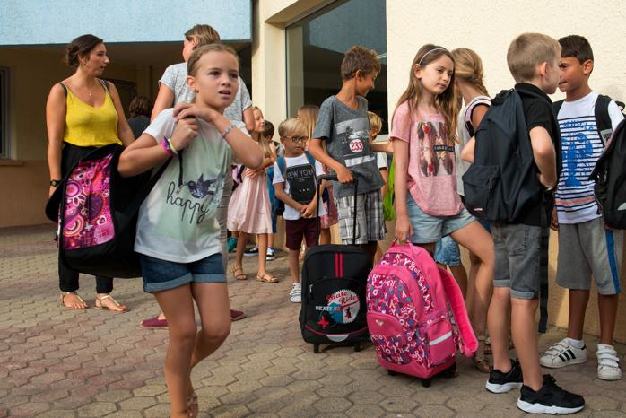 Mouvement de grève dans les écoles maternelles et élémentaires de la Ville d'Ajaccio lundi 12 novembre 2018