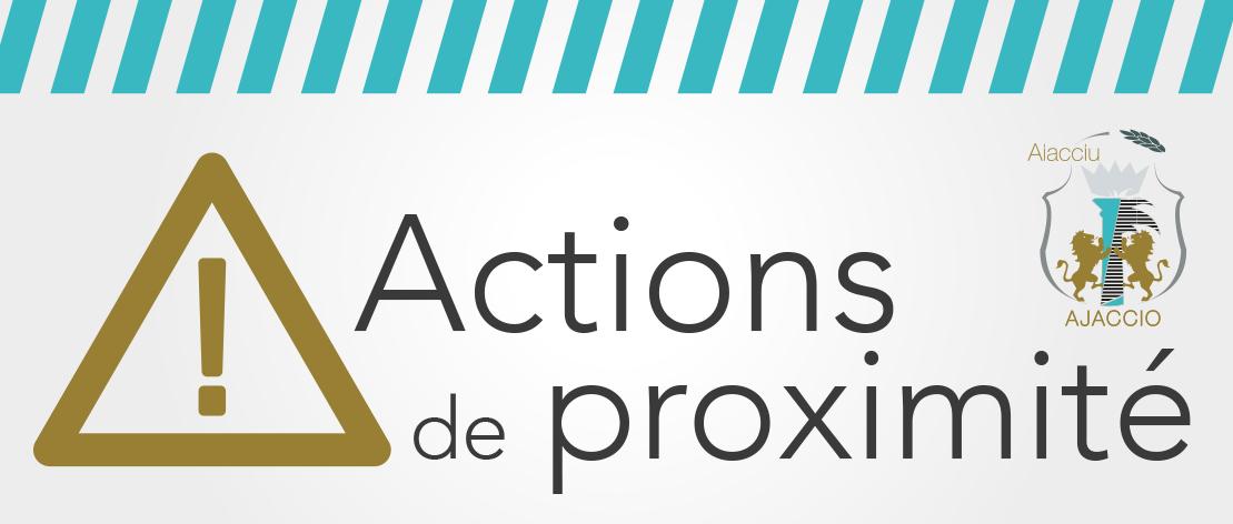 Interdiction de stationnement temporaire et rue barrée Rue François Salini et rue Colomba à compter du 11 décembre 2018