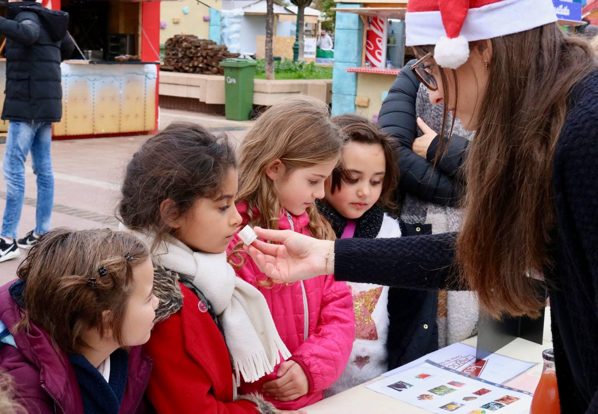 Ateliers sensoriels et ludiques au Marcatu di Natali