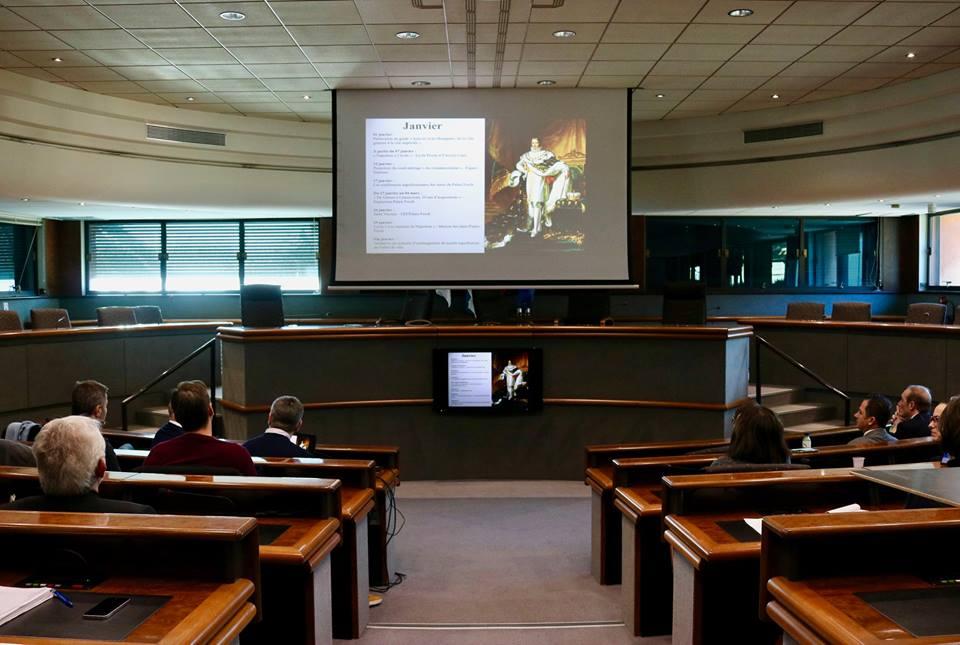 """Lancement officiel de l'événement """"Napoléon 2019"""" en salle du conseil municipal ce vendredi 11 janvier."""