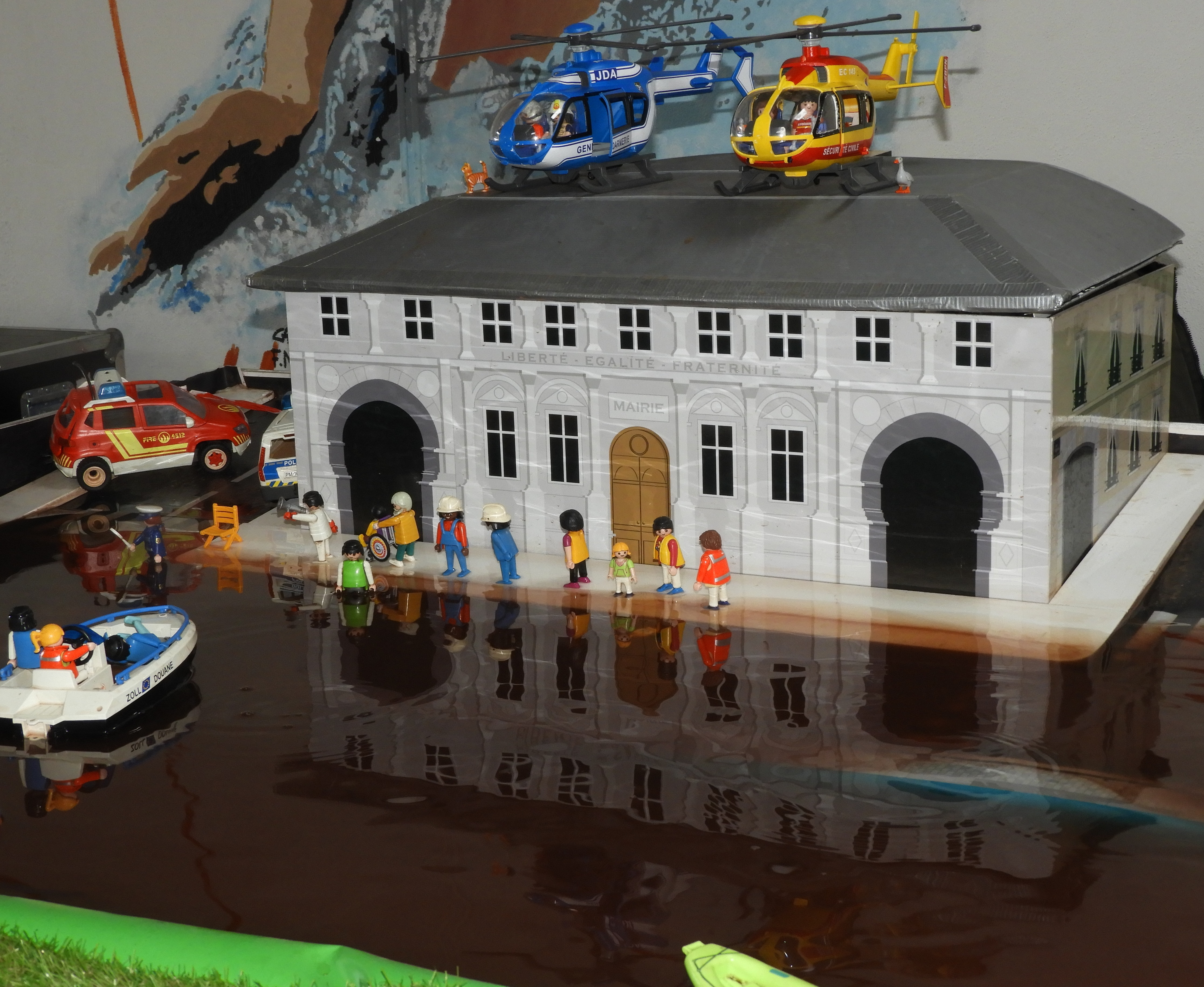 Action de Sensibilisation au risque inondation