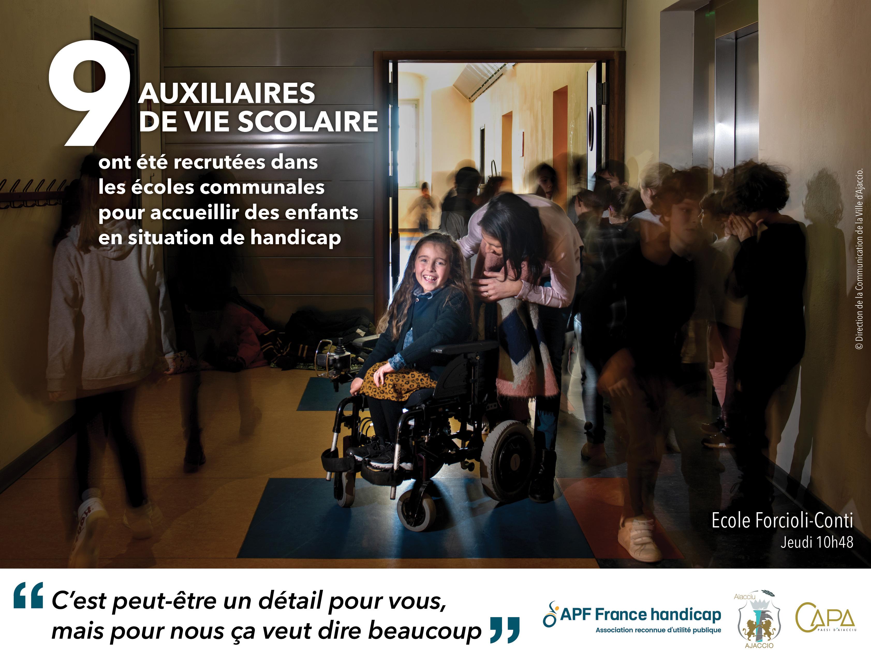 Ajaccio, ville inclusive en faveur du handicap