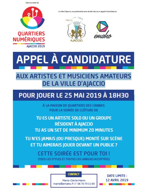 6 ème édition des Quartiers Numériques : appel à candidature et programmation