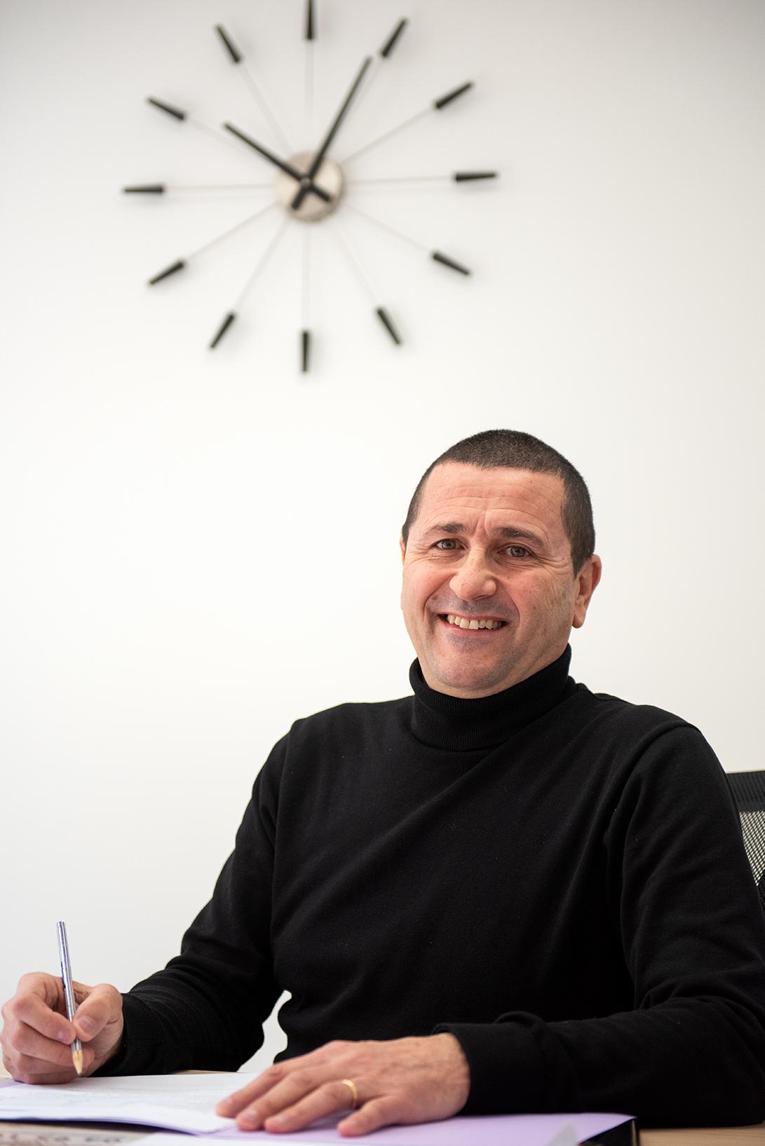 Marc Munoz est directeur de la Milo Ajaccio depuis 2015.