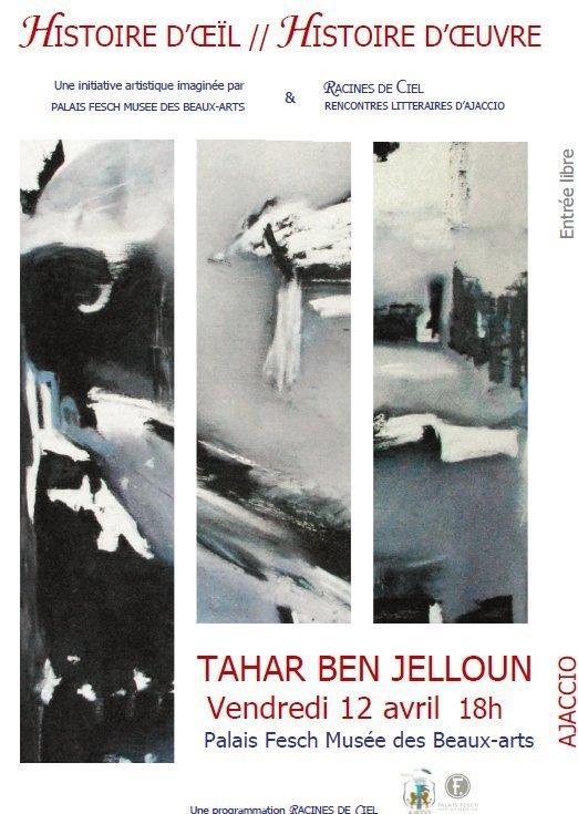 Tahar Ben Jelloun en conférence littéraire au Palais Fesch