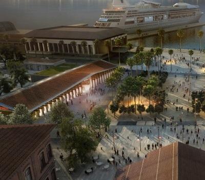 L'Etat soutient la création de la halle aux marchés de la place Campinchi