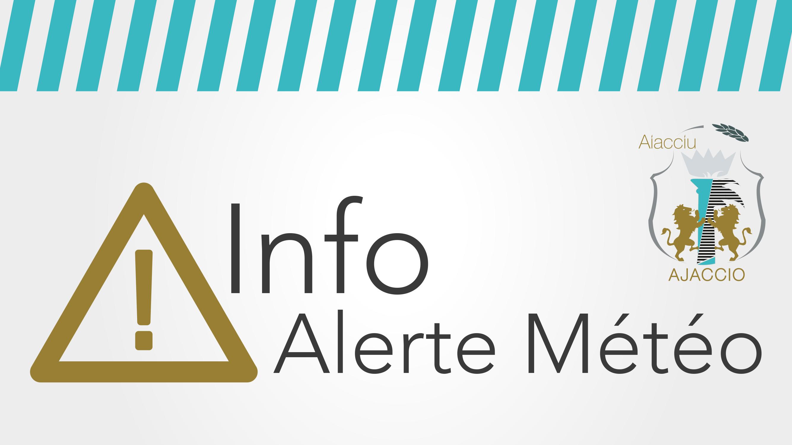 INFO MÉTÉO du 22 avril 2019 : vigilance jaune (Corse-du-Sud)