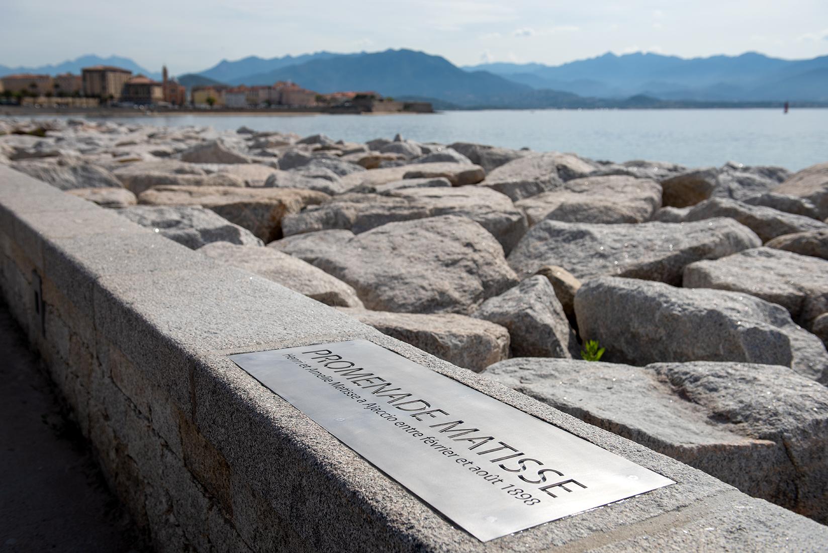"""La promenade Matisse entre la plage Trottel et la place Miot sera également dotée d'une reproduction du tableau """"Le Mur rose""""."""