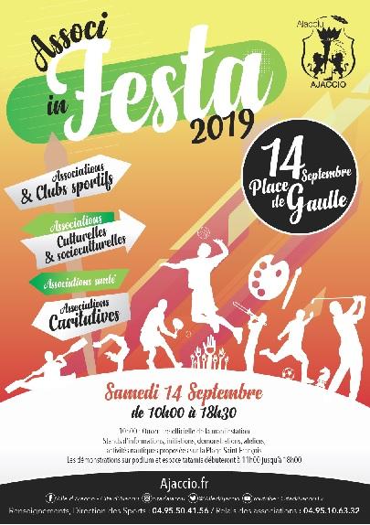 Associ in festa 2019, fête du sport