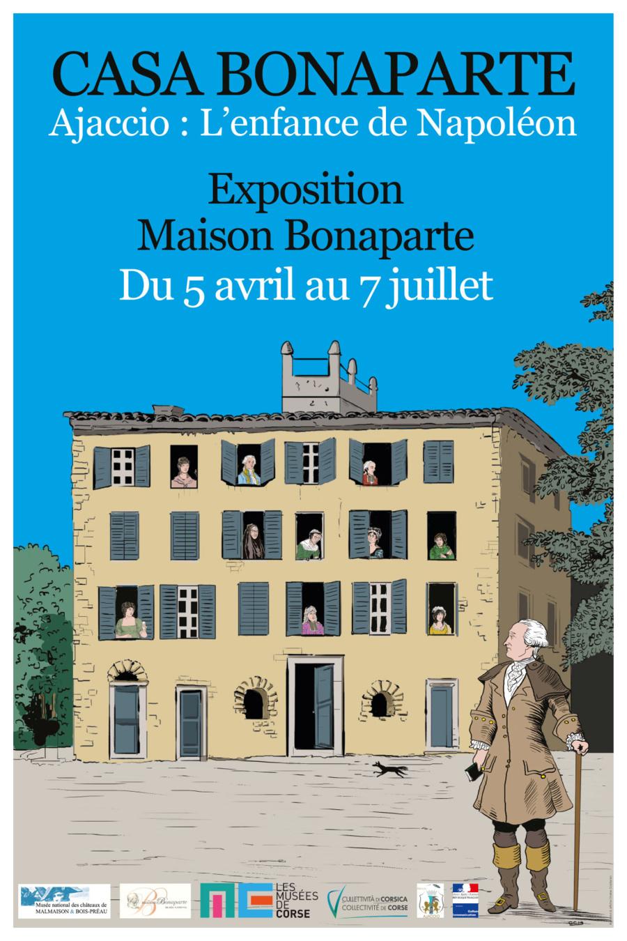 « Ajaccio : l'enfance de Napoléon »
