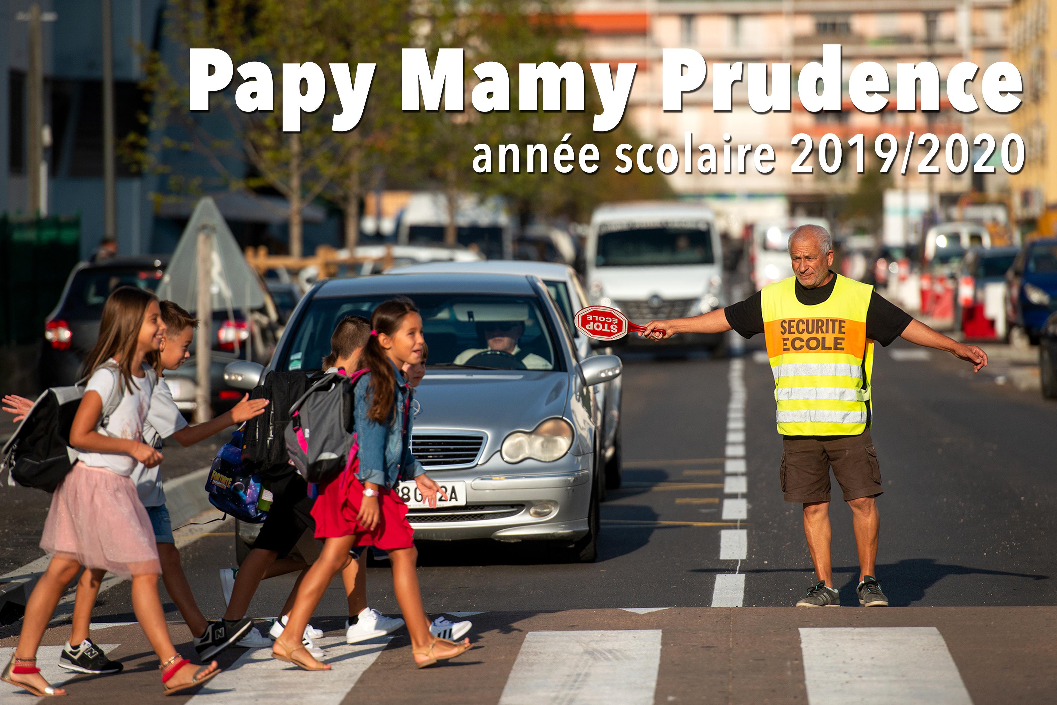 La Ville d'Ajaccio recherche des Papys et Mamys prudence