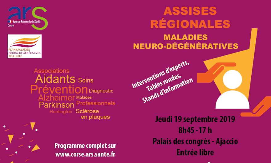 Assises régionales consacrées aux maladies neuro-dégénératives