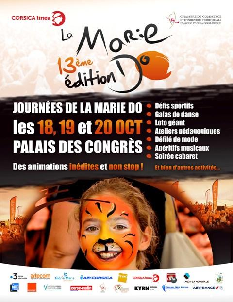 """13èmes """"Journées De La Marie-Do"""", Les 18,19 & 20 Octobre Au Palais Des Congrès"""
