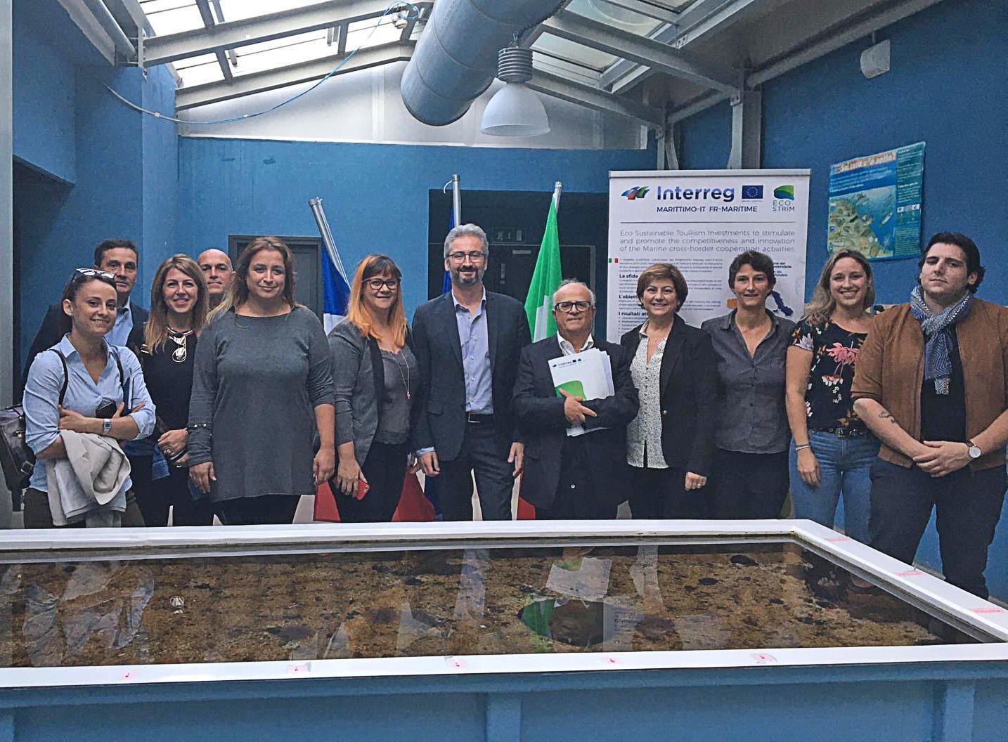 Événement EcoSTRIM à Livourne et à Elbe, les 22 et 23 octobre